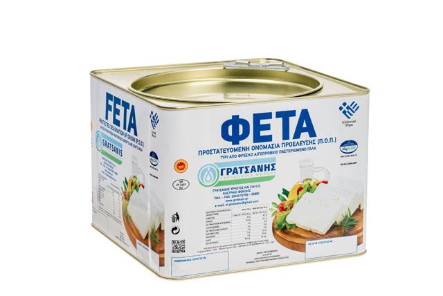 ΦΕΤΑ ΠΟΠ ΓΡΑΤΣΑΝΗΣ 7,5 κιλών