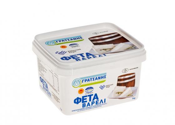 Φέτα Γρατσάνης Τάπερ 1kg