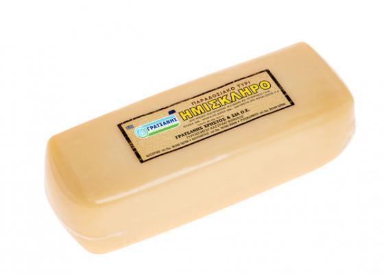 Ημίσκληρο τυρί Γρατσάνης